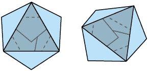 Triangle Origami Box - origami triangle box