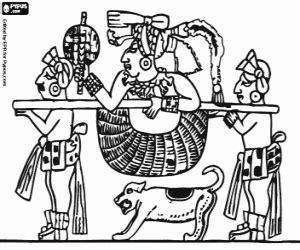 imagenes de figuras mayas para colorear juegos de mayas imperio maya para colorear imprimir y