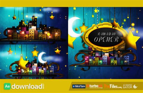 templates after effects gratis cc ramadan opener videohive project free download free