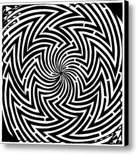 printable optical illusions coloring optical illusions and illusions on pinterest