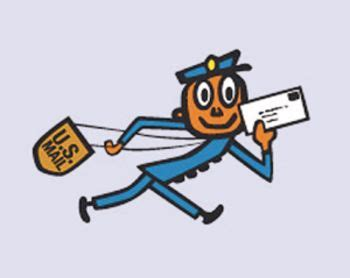 1960's mr. zip ( zippy ) u.s post office logo | the 1960's