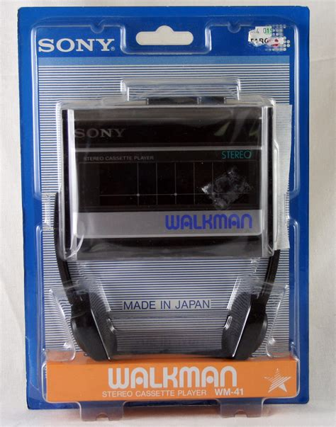 sony walkman cassette walkman wm 41 stereo cassette player cassette players