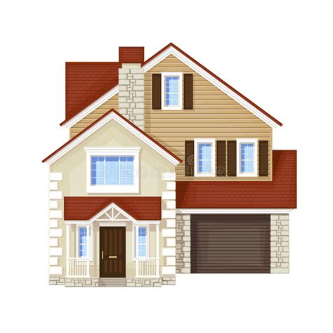 home picture single family house stock vector illustration of icon