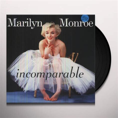 marilyn monroe vinyl marilyn monroe incomparable vinyl record