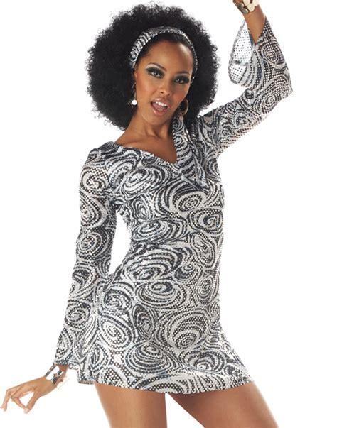 foxy lady disco costume womens womens retro 70 s disco foxy lady adult hippie halloween