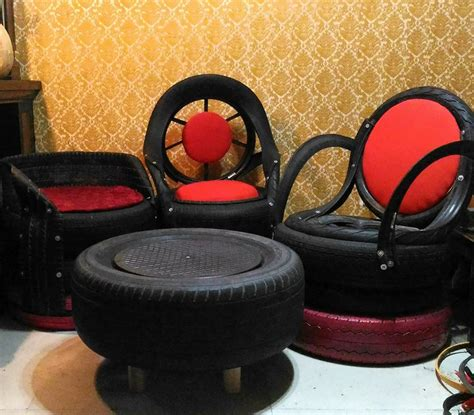 upholstery jobs abroad ex ofw profits from making furniture out of old tires