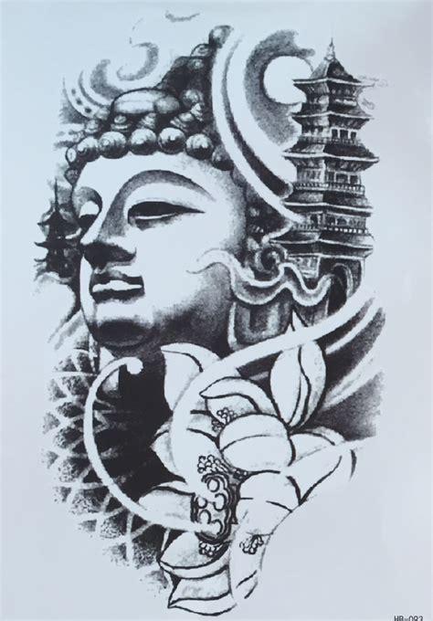 buddha sleeve tattoo designs buddhist designs elaxsir