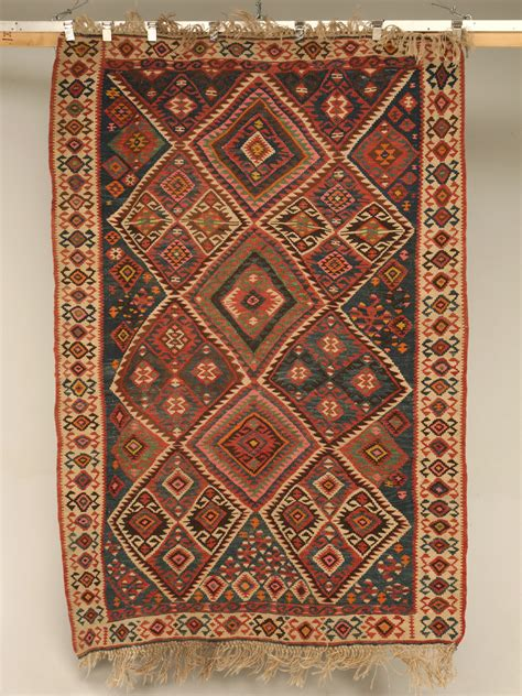Patterned Rug by File Vintage Turkish Kilim Geometric Patterned Rug Jpg