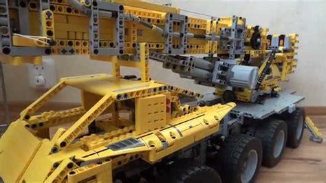 motorized crane lego big crane motorized