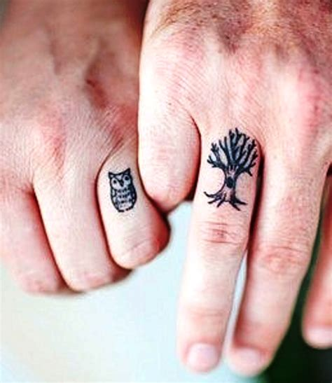 owl tattoo on finger meaning finger tattoo owl and tree insigniatattoo com
