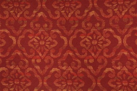 3 1 yards fabricut tapestry upholstery fabric in wine