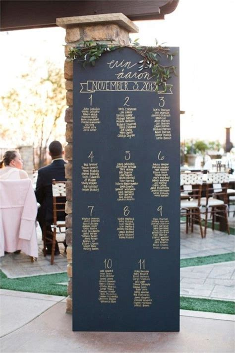 Best 20  Chalkboard seating charts ideas on Pinterest