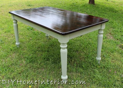 refinishing solid walnut table refinishing a dining room table with paint and wood stain
