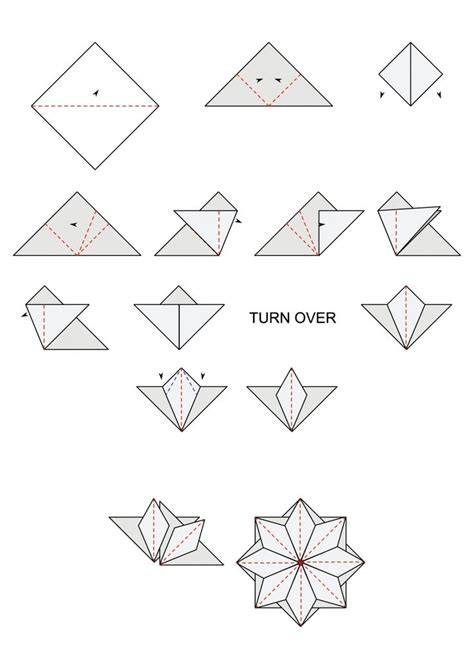 Tea Bag Folding Paper - 17 best images about origami mandalas estrelas e tea bag