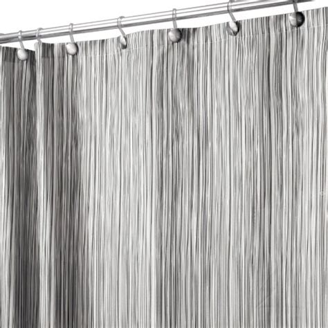 black and gray shower curtain interdesign oodle shower curtain black and gray 72 inch