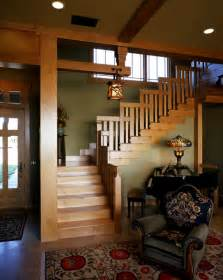 Craftsman Style Home Interior 1000 Images About Arts Amp Crafts Staircases On Pinterest