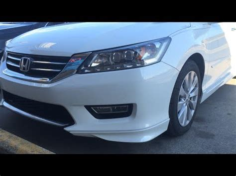 2014 honda accord touring v6 start up, exhaust, and review