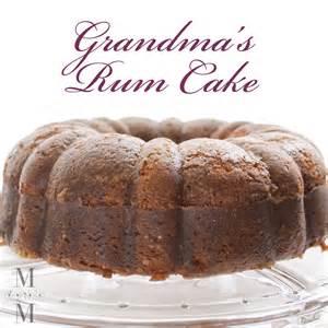 rum cake i recipe dishmaps