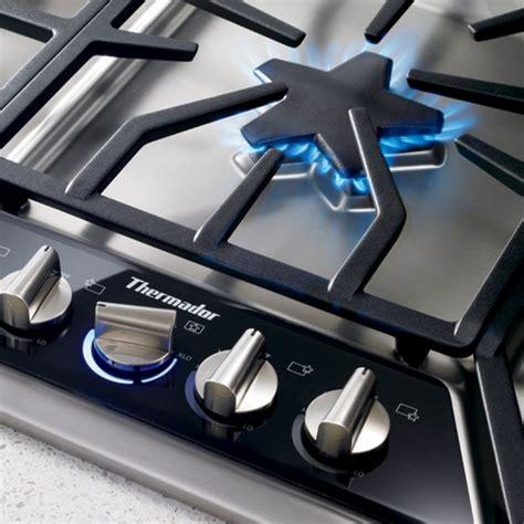 thermador sgsxfs masterpiece  deluxe gas cooktop
