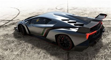 Veneno Lamborghini: Car that can travel from 0 60mph in under three seconds is named after a