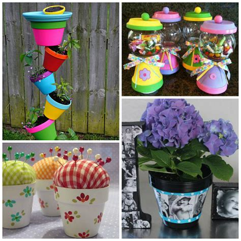 flower pots ideas flower pot gift ideas for s day crafty morning