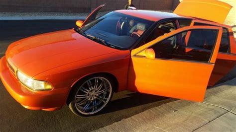 orange impala custom burnt orange 96 impala ss