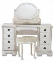 bedroom classic white makeup vanity dresser designed with