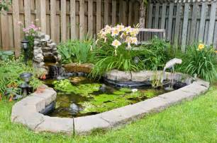 backyard pond plants 37 backyard pond ideas designs pictures