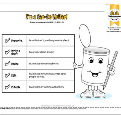 Writing Process Worksheet by Free Lesson Plans Worksheets For Teachers Studentreasures
