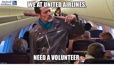 Volunteer Meme - united airlines ingflip com we at united airlines need a