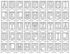 printable letter templates for banners free printables free printable decorations free