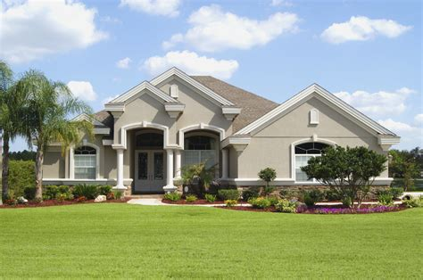 stucco home designs choosing exterior stucco cleaning and maintaining