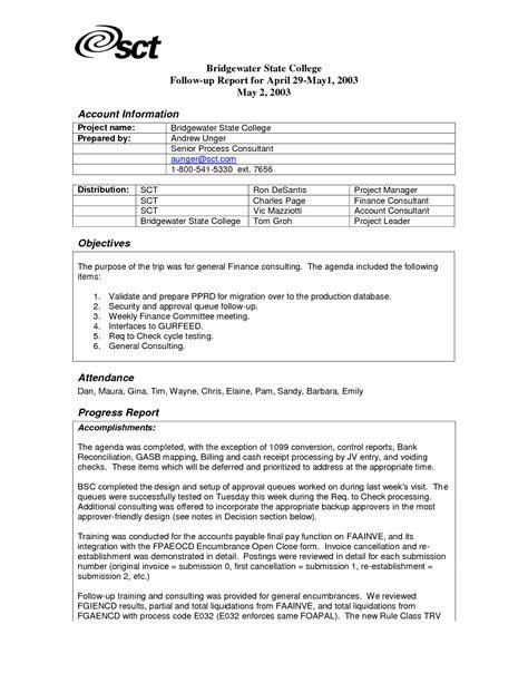 example essay report sample internship report template 9 documents