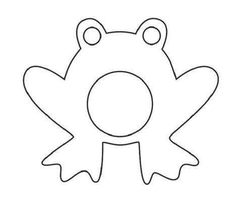 frog template 17 best images about coloring frogs and the li on