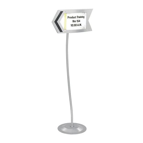sign stands customizable arrow sign stand