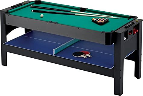 fat cat pool fat cat original 3 in 1 6 foot flip game table air hockey
