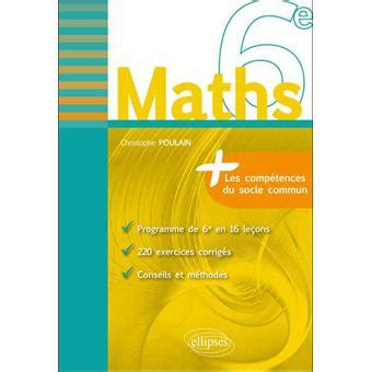 Maths 6 232 Me Fiches De Rappel Exercices Corrig 233 S Broch 233