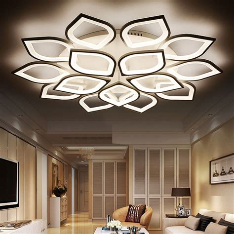 modern living room light fixtures modern house aliexpress com buy new acrylic modern led ceiling lights