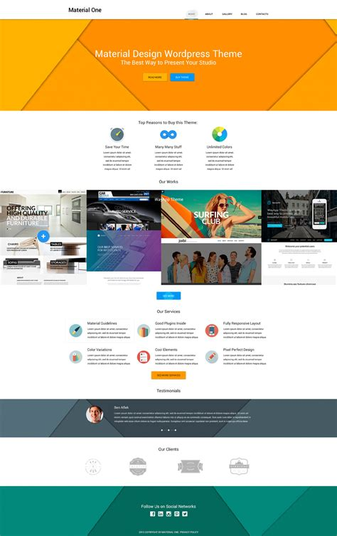live preview for web design storage wordpress theme 53492