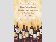 Custom Painterly Wine Tasting Invitations - Party City Luau Food Ideas For Party