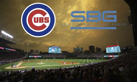 chicago cubs sinclair team   launch marquee sports network