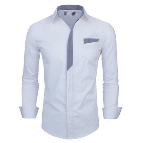 Tshirt Pria Masculin 25 model baju kemeja putih ini bikin pria makin maskulin