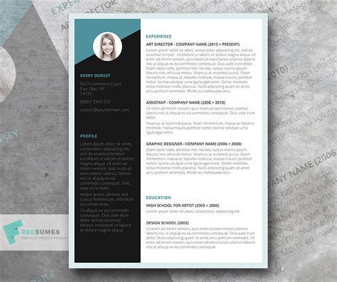 Winning Resume Templates by Free Winning Resume Template Instant