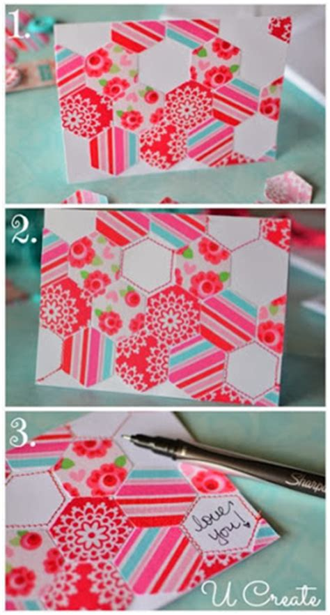 Steps To Make Handmade Cards - fabric and trim handmade greeting cards u create