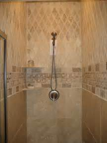 custom tile shower j r tile