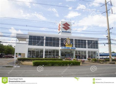 Service Center Suzuki Suzuki Car Showroom And Service Center Editorial Stock