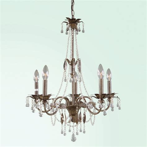 Brown Chandelier Bethel International Rt101 5 Light Chandelier Brown Atg Stores