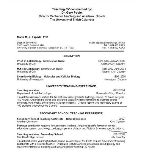 general cv format pdf pdf printable general cv template free free sles exles format resume curruculum