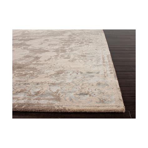 jones rugs designer rug versailles taupe wool silk style swanky interiors