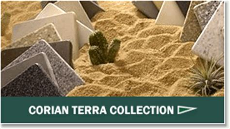 Corian Terra Collection recycled acrylic polyester